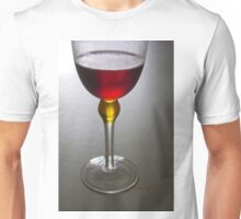 Wine glass art Unisex T-Shirt