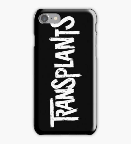 The Transplants iPhone Case/Skin