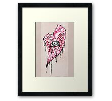 A Delicate Shade of Decay Framed Print