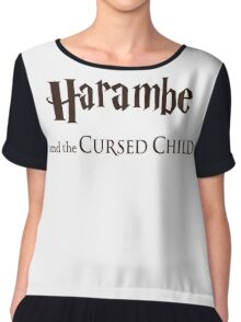 Harambe And The Cursed Child Chiffon Top