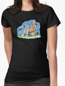 Not Quite Cricket Womens Fitted T-Shirt
