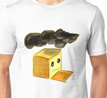 Boxed in Under a Black Cloud Unisex T-Shirt