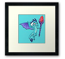 Princess Ember (My Little Pony) (W/V) Framed Print