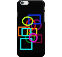 The Shapeses Eat Dinner (each other!) iPhone Case/Skin