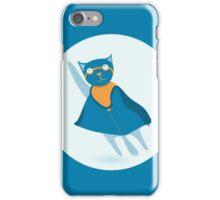 Сat superhero  iPhone Case/Skin