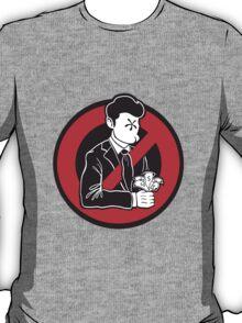 Evil and Greedy Corporation V2 T-Shirt