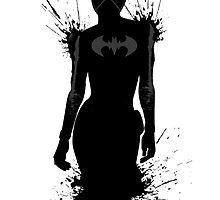 The Black Bat - Cassandra Cain by Ninjaza