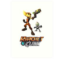 Ratchet & Clank The Movie 2016 Art Print