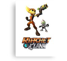 Ratchet & Clank The Movie 2016 Canvas Print