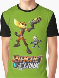 Ratchet & Clank The Movie 2016 Graphic T-Shirt