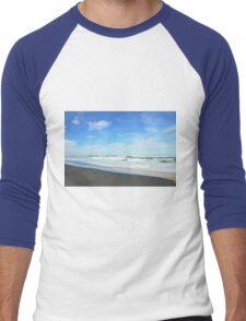 Shore Lines - Great Ocean Road Men's Baseball ¾ T-Shirt