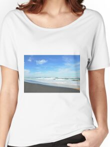 Shore Lines - Great Ocean Road Women's Relaxed Fit T-Shirt