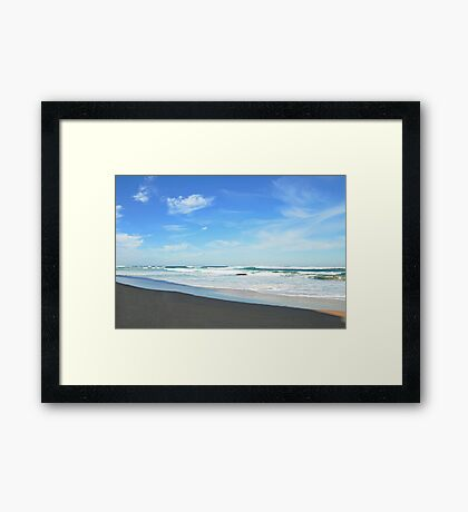 Shore Lines - Great Ocean Road Framed Print