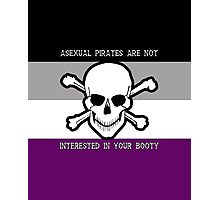 Asexual Pirates Photographic Print