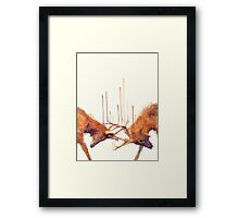 Stags // Strong Framed Print