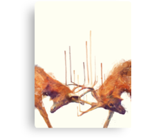 Stags // Strong Canvas Print