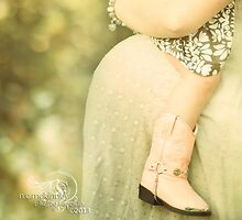 Li'l cowgirls make great big sisters! by Nicole  McKinney