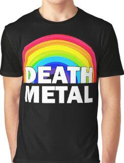 Death Metal Rainbow Graphic T-Shirt