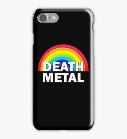 Death Metal Rainbow iPhone Case/Skin