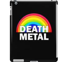 Death Metal Rainbow iPad Case/Skin