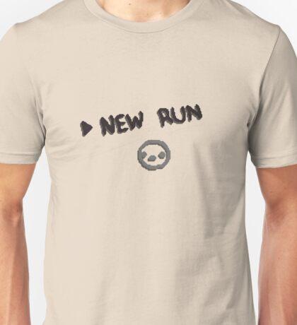 The Binding of Isaac Start New RUN TBOI Unisex T-Shirt