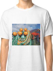 Fishing Gear At The Cobb - Lyme Regis Classic T-Shirt