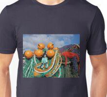 Fishing Gear At The Cobb - Lyme Regis Unisex T-Shirt