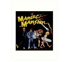 Maniac Mansion Art Print