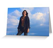 Rick Mora Greeting Card