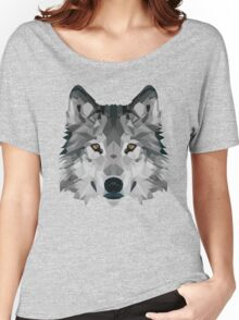 Crystalline Wolf Women's Relaxed Fit T-Shirt
