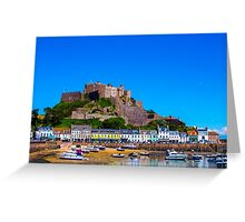 Gorey Harbour Jersey Greeting Card