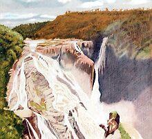 Barron Falls, Far North Queensland by Richard Klekociuk