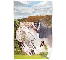 Barron Falls, Far North Queensland Poster