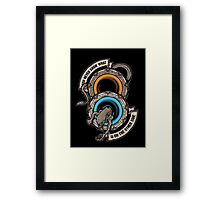 Star Portals Framed Print
