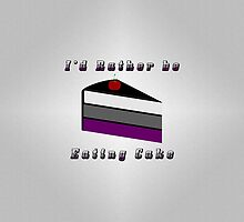 Asexual Cake by LiveLoudGraphic