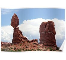 Balanced Rock Arches National Park Poster