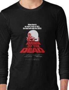romero cult movie dawn of the  dead Long Sleeve T-Shirt