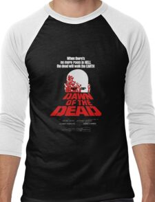 romero cult movie dawn of the  dead Men's Baseball ¾ T-Shirt