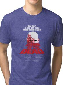 romero cult movie dawn of the  dead Tri-blend T-Shirt