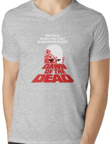 romero cult movie dawn of the  dead Mens V-Neck T-Shirt