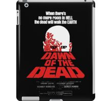 romero cult movie dawn of the  dead iPad Case/Skin