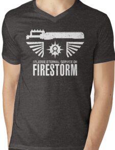 Pledge Eternal Service on Firestorm - Limited Edition Mens V-Neck T-Shirt