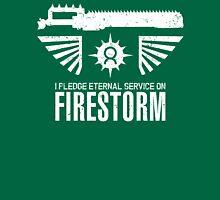 Pledge Eternal Service on Firestorm - Limited Edition Unisex T-Shirt