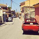 Corfu Village by Hazel Dean