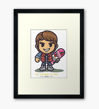 Marty Ninja Framed Print