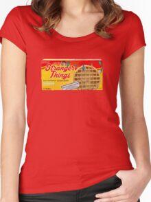 Stranger Things Eggo Waffles Women's Fitted Scoop T-Shirt