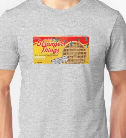 Stranger Things Eggo Waffles Unisex T-Shirt
