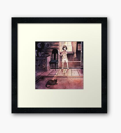 One Morning I Remember Framed Print