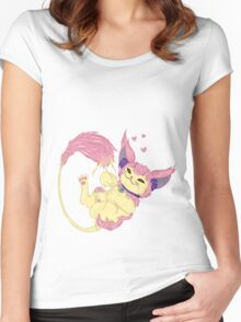 Skitty Women's Fitted Scoop T-Shirt