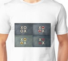 Vintage chalkboards with text XOXO Unisex T-Shirt